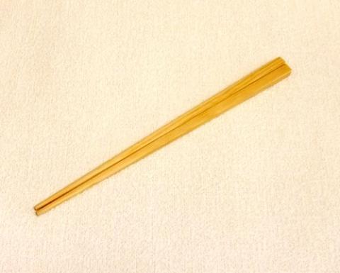 作品:木のお箸