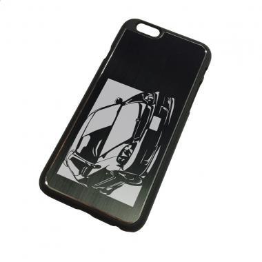 ホンダ(HONDA) シビック Type R EK9の切り絵をデザインしたiPhoneケース(iPhone6用)[CI6-118]