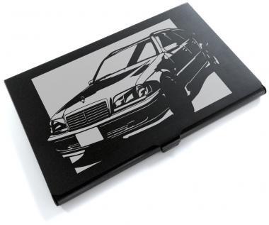 メルセデス・ベンツ(MERCEDES) C280 ワゴンの切り絵をデザインしたカードケース[CC-119]