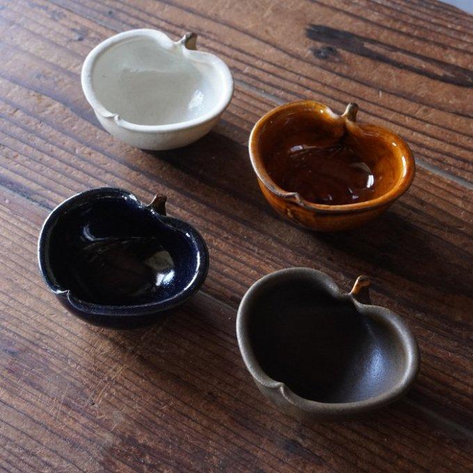 【古谷製陶所】アメ釉 りんご鉢