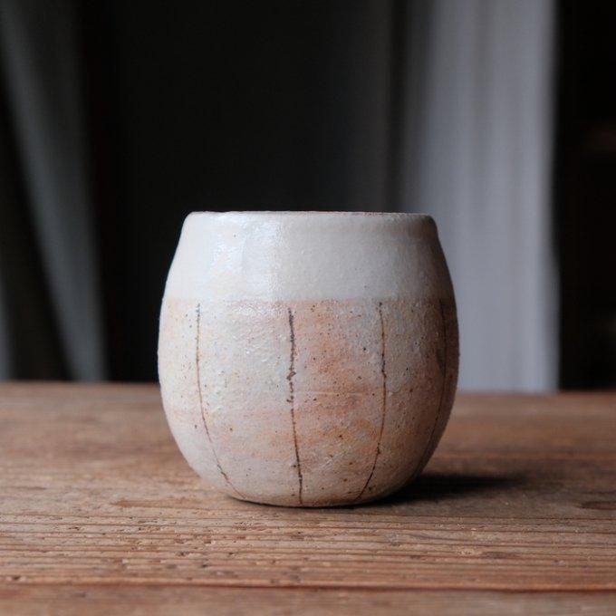 【古谷製陶所】たて鉄線 エッグカップ