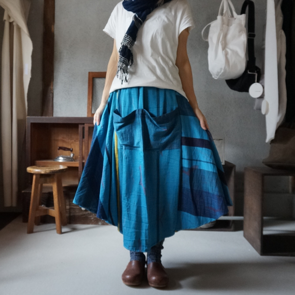【tamaki niime】チョタンスカート(chotan skirt free)CTS