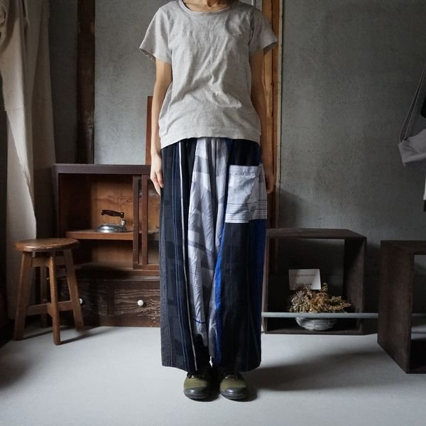 【tamaki niime】タルーンパンツロング(Only one tarun pants lon)TPL