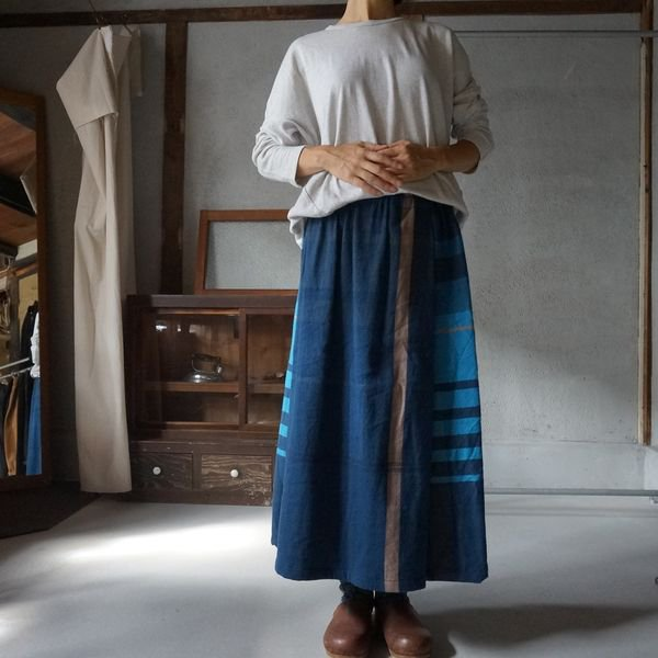 【tamaki niime】ウールポワンスカート Only one powan skirt short WPSS