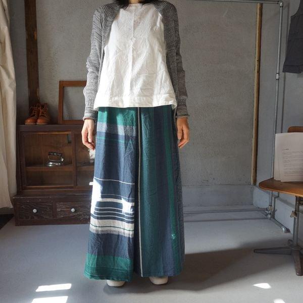 【tamaki niime】ウールポワンスカート Only one powan skirt long WPSL