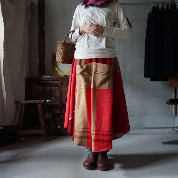 【tamaki niime】チョタンスカート(chotan skirt free)WCTS