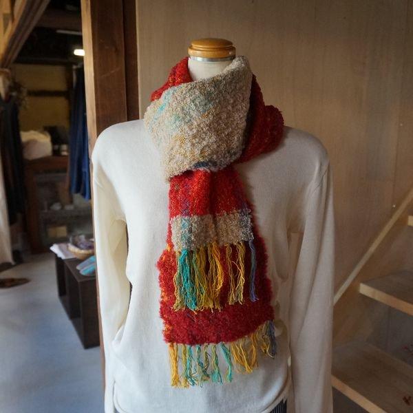 【ワークショップ虹】さをり織り