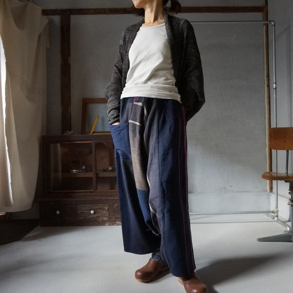【tamaki niime】ウールタルーンパンツロング(Only one tarun pants lon)WTPL