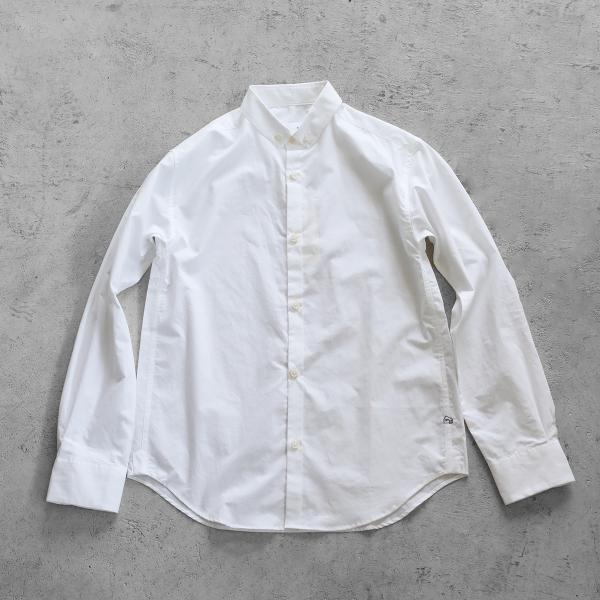 【HUIS】オーガニックコットンボタンダウンシャツ【ユニセックス】