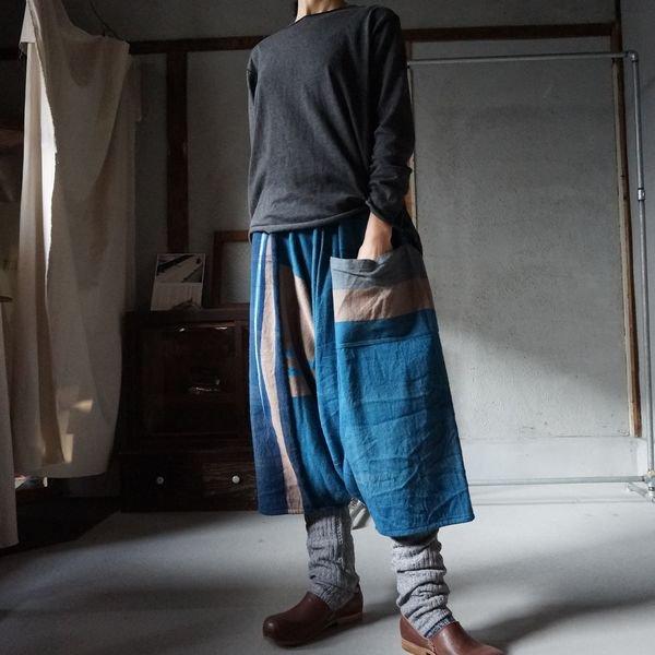 【tamaki niime】タルーンパンツショート(Only one tarun pants short)WTPS