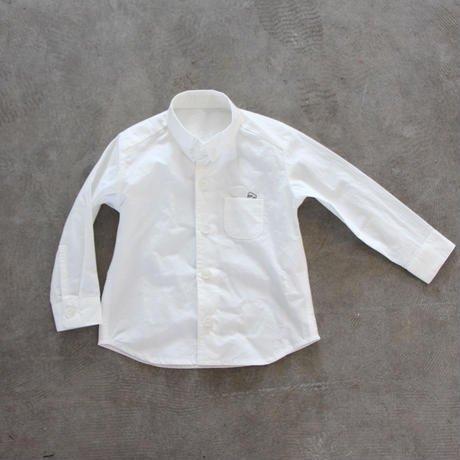 【HUIS】kidsタイプライタークロスコットンシャツ【キッズ】