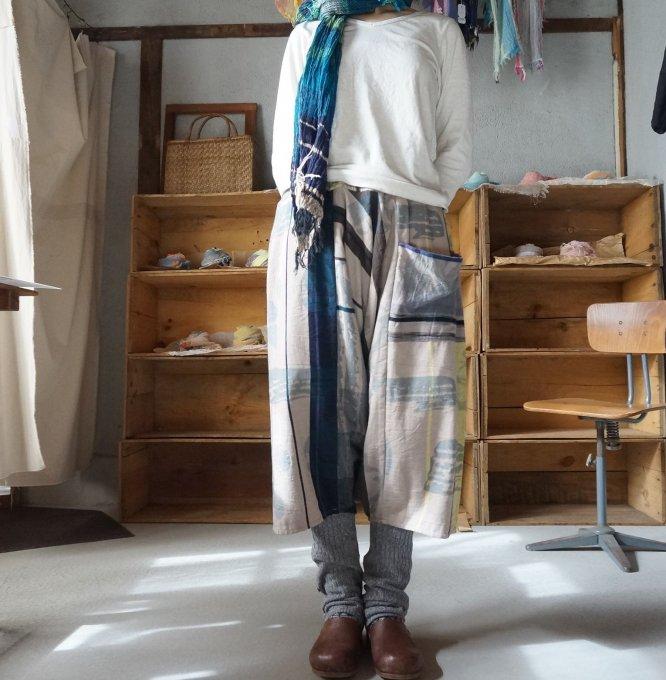 【tamaki niime】タルーンパンツショート(Only one tarun pants short)TPS