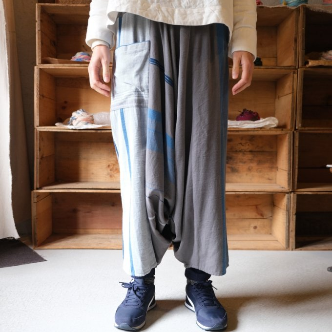 【tamaki niime】タルーンパンツロング(Only one tarun pants lon)TPL