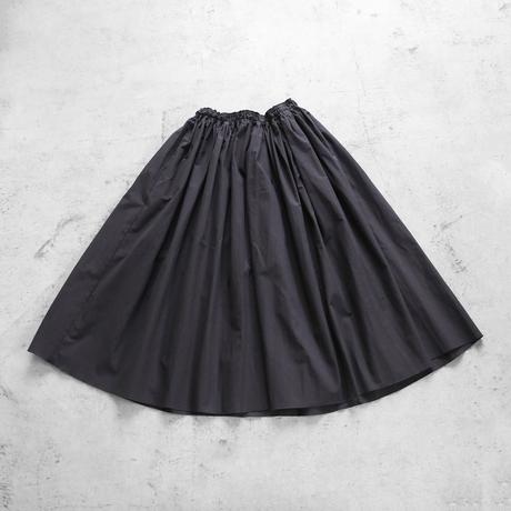 【HUIS.】U402ダウンプルーフコットンロングスカート(ダークグレー)【レディス】