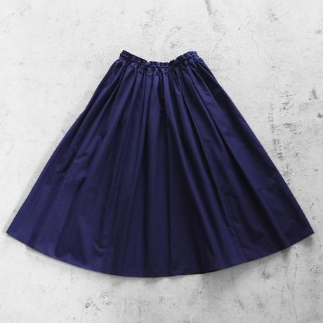 【HUIS.】U402ダウンプルーフコットンロングスカート(フレンチネイビー)【レディス】