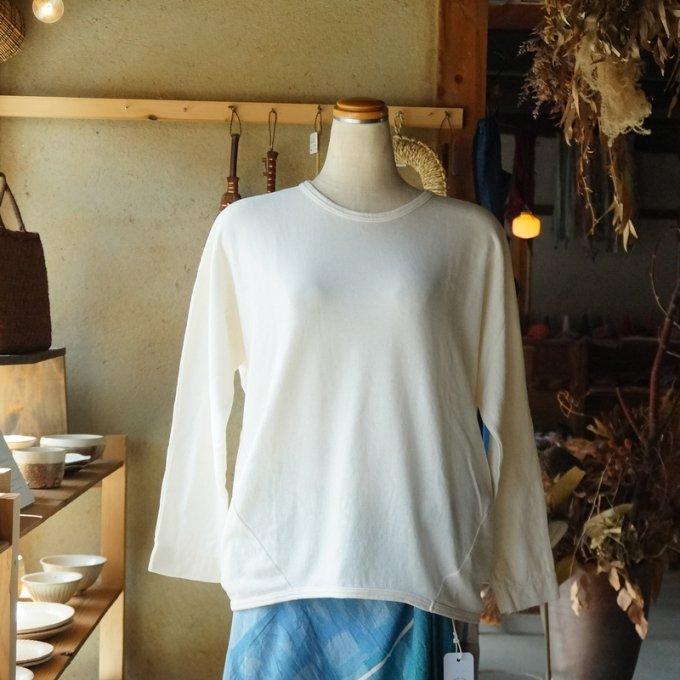 【tamaki niime】【春展】マルT long sleeves size2