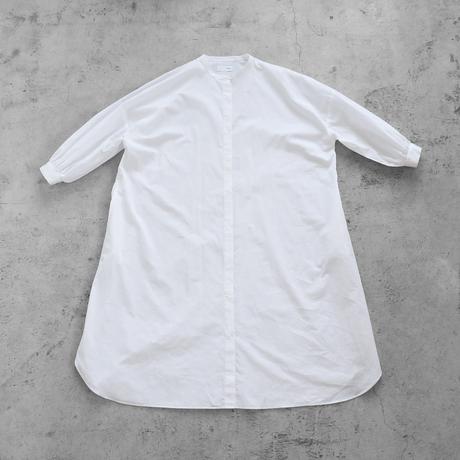 【HUIS.】U212バルーンスリーブコードレーンワンピース(ホワイト)【レディース】