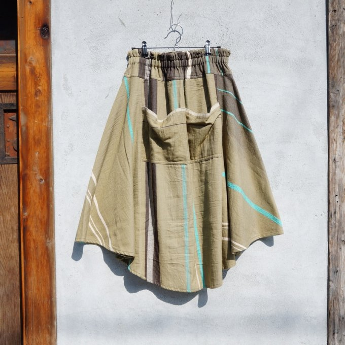 【tamaki niime】【春展】チョタンスカート