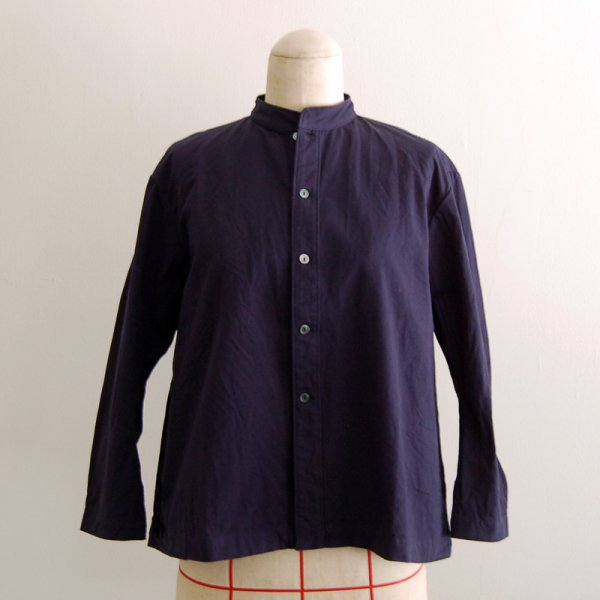 【AIR ROOM PRODUCTS】ジャケットシャツ ネイビー【受注】