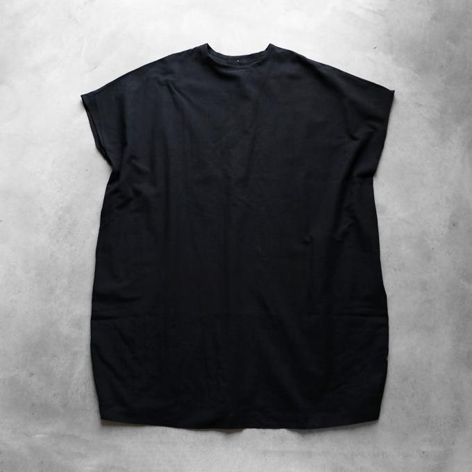 【HUIS】U207 レピアコクーンワンピース(ブラック)【レディス】