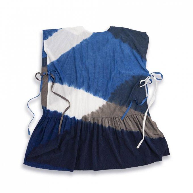 【宝島染工】KAKU Dress 3Tone Shibori TS20OP0101IXC0