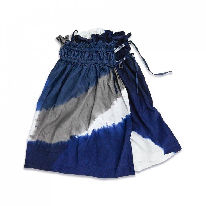 【宝島染工】KAKU Skirt 3Tone Shibori TS20SK0201IXC0