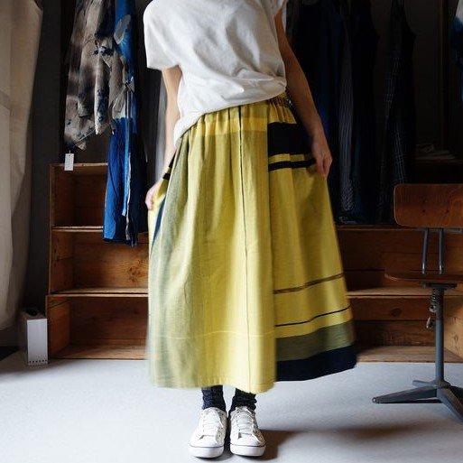 【tamaki niime】コットン ポワンスカート short