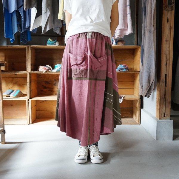 【tamaki niime】コットン チョタンスカート