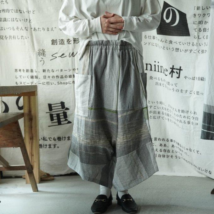 【tamaki niime】コットン ダックス【てんてん】
