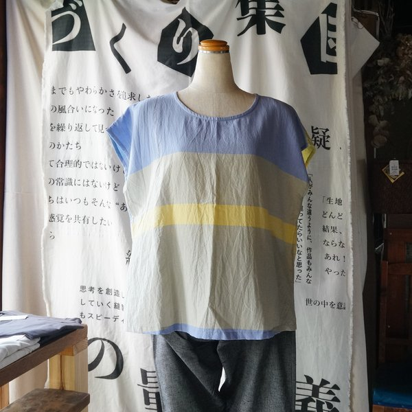 【tamaki niime】コットン suton-T short