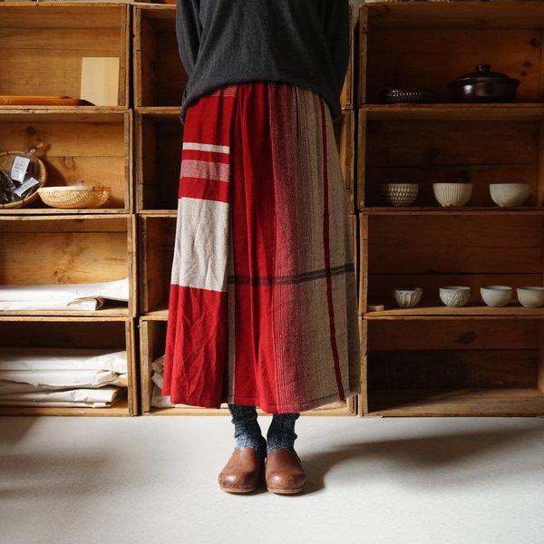 【tamaki niime】ウールポワンスカート Only one powan skirt short WPSS
