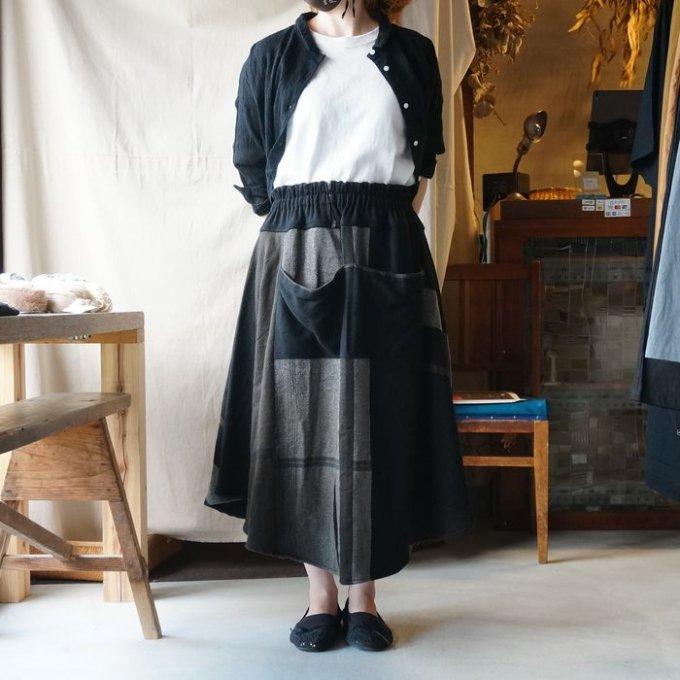【tamaki niime】ウール チョタンスカート