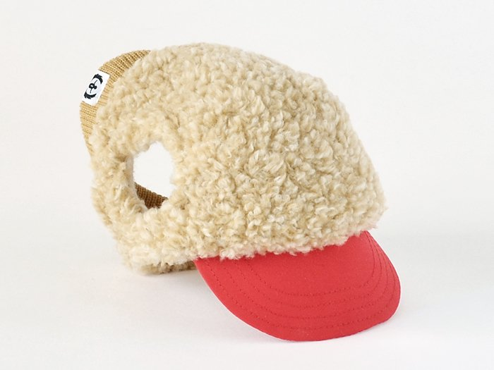 MONT BLANC CAP (camel×red)