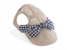 <img class='new_mark_img1' src='https://img.shop-pro.jp/img/new/icons5.gif' style='border:none;display:inline;margin:0px;padding:0px;width:auto;' />NEW SOUTH FRENCH CAP(natural×navy gingham ribbon)
