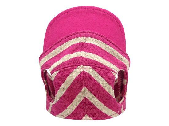 BORDER CAP(pink×beige)