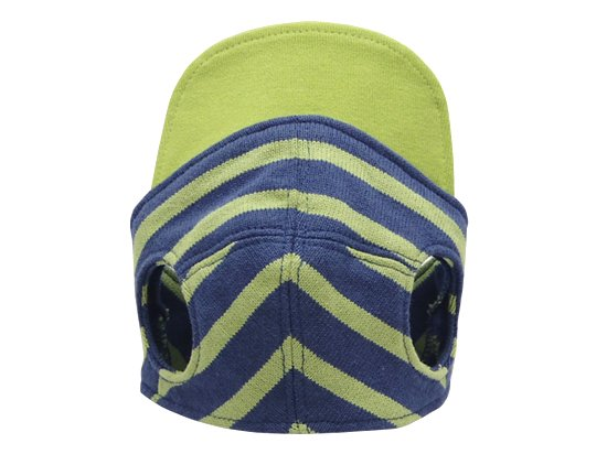 BORDER CAP(green×blue)