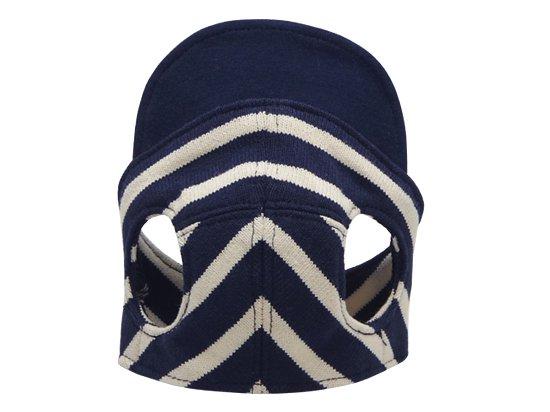 BORDER CAP(navy×white)