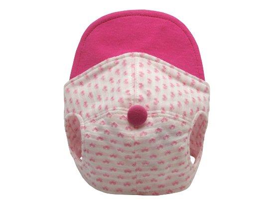 ハート柄CAP (pink)