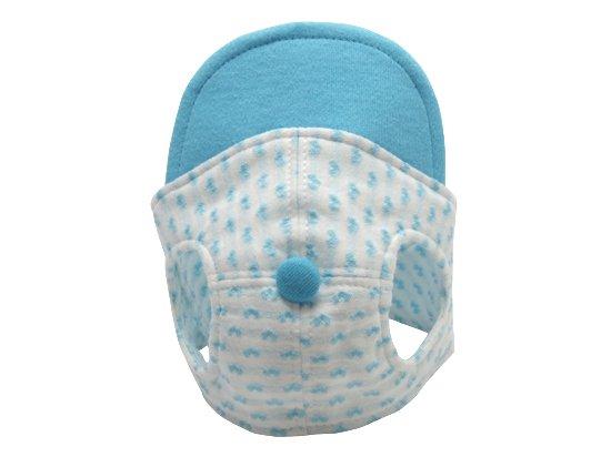 ハート柄CAP (blue)