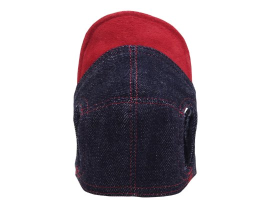 DENIM CAP (red)