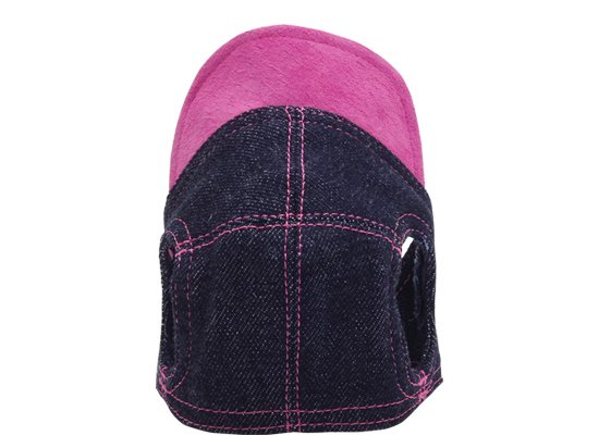 DENIM CAP (pink)