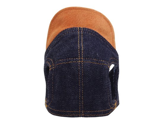 DENIM CAP (orange)