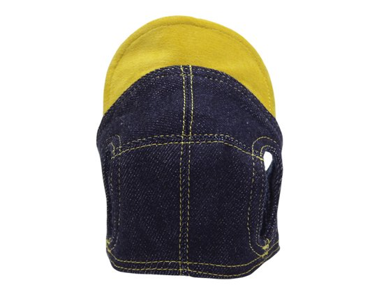 DENIM CAP (yellow)