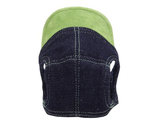 DENIM CAP (green)