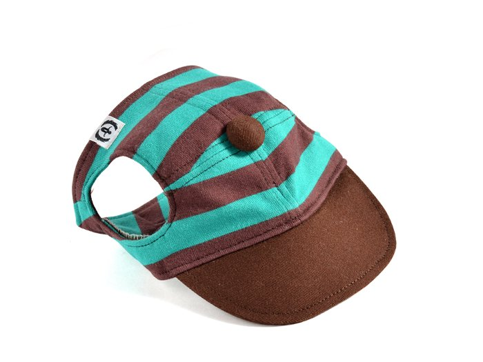 CANDY CAP (brown×mint)