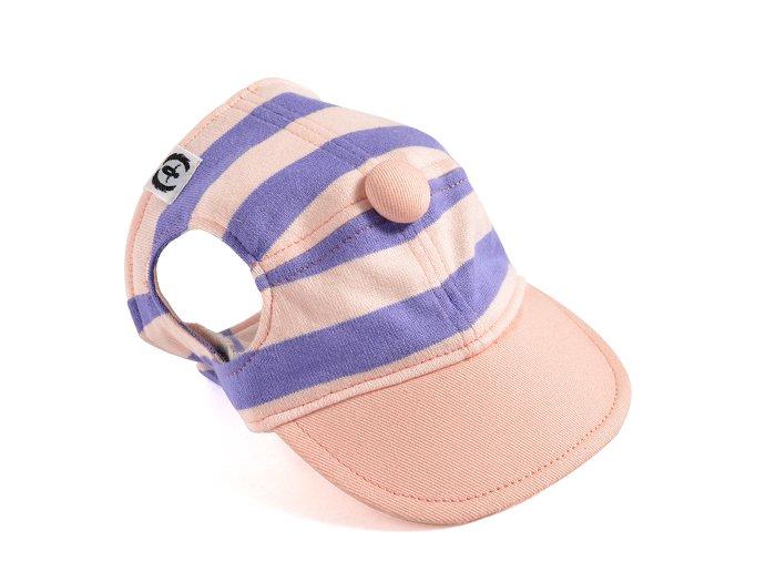 CANDY CAP (babypink×purple)