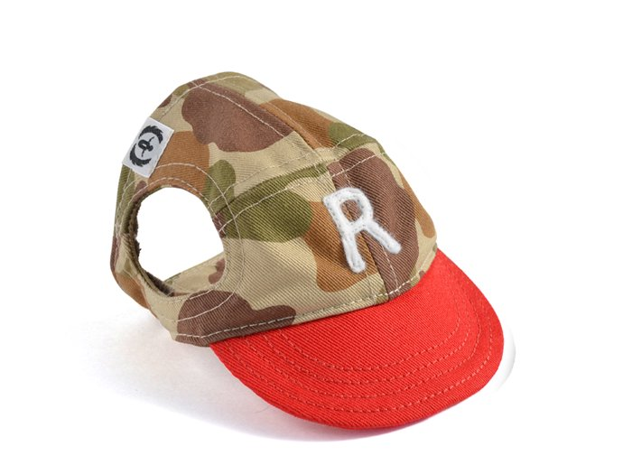 CAMO CAP (beige×red)
