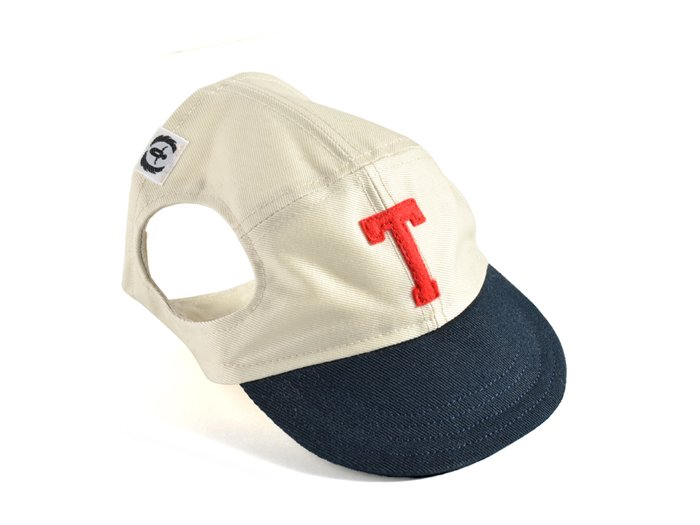 COLLEGE CAP (white��navy)