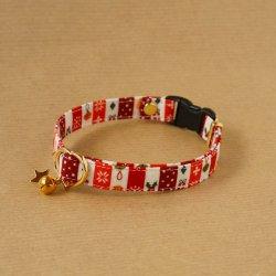 クリスマスの首輪<br>(レッド)