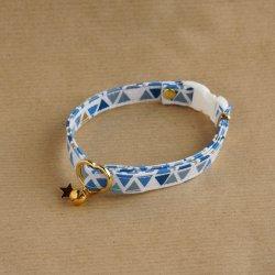 トライアングルの首輪<br>(ブルー)